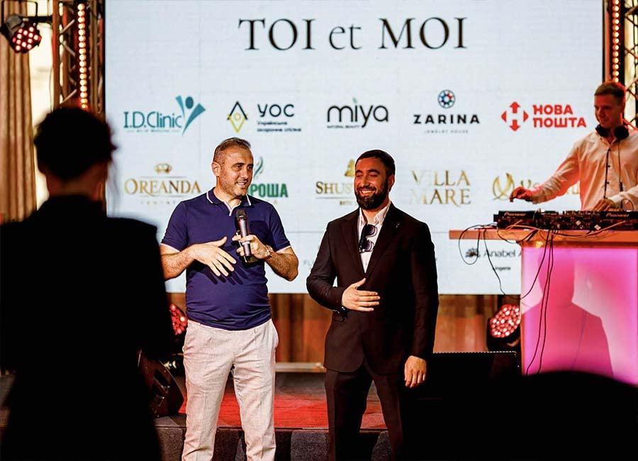 Первая годовщина TOI et MOI. Основатели